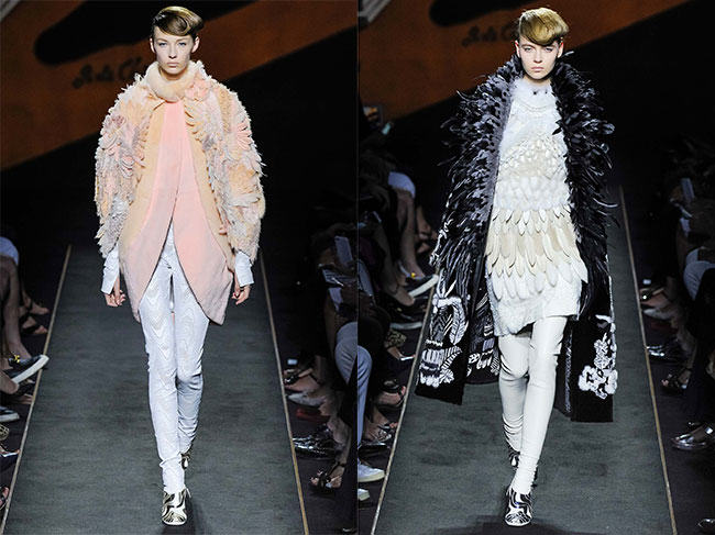Lagerfeld's Fendi Haute Fourrure Show a Celebration of Fur
