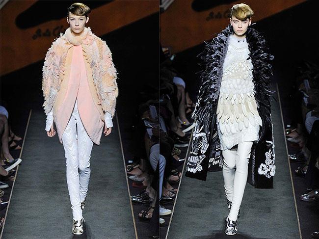 Lagerfeld's Fendi Haute Fourrure Show a Celebration of Fur