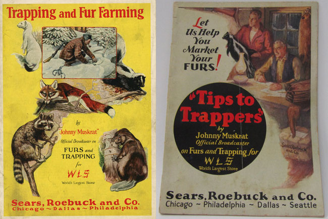 Sears, Roebuck, skunk fur, johnny muskrat