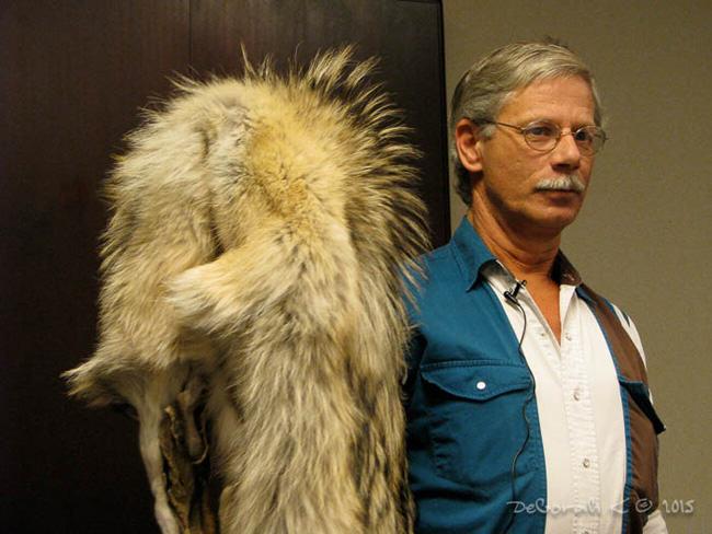 Ross Hinter wolf pelt