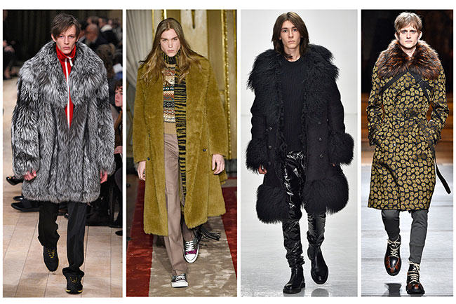fur, fashion, catwalk, runway, menswear, fur coat, fur in the news