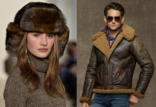 Ralph Lauren, shearling, PETA, fur