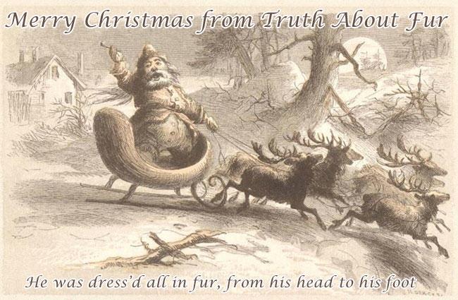 santa wears fur, santa, fur, f.o.c. darley