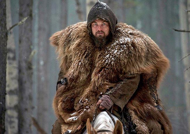Leonardo DiCaprio, Revenant, Bear fur