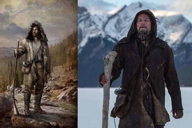 the revenant, fur trade, fur trade history, cinema, fur in the news, leonardo dicaprio