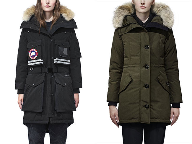 canada goose, fur fashion
