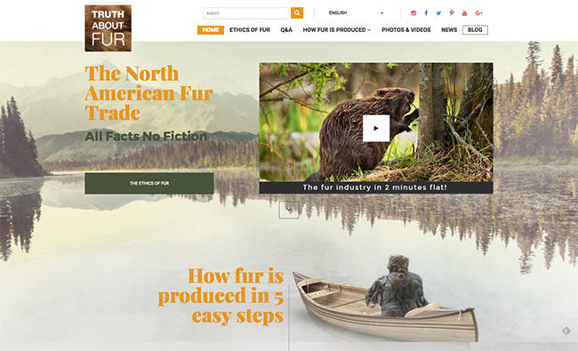 Truth About Fur Launches Redesigned Fur Website