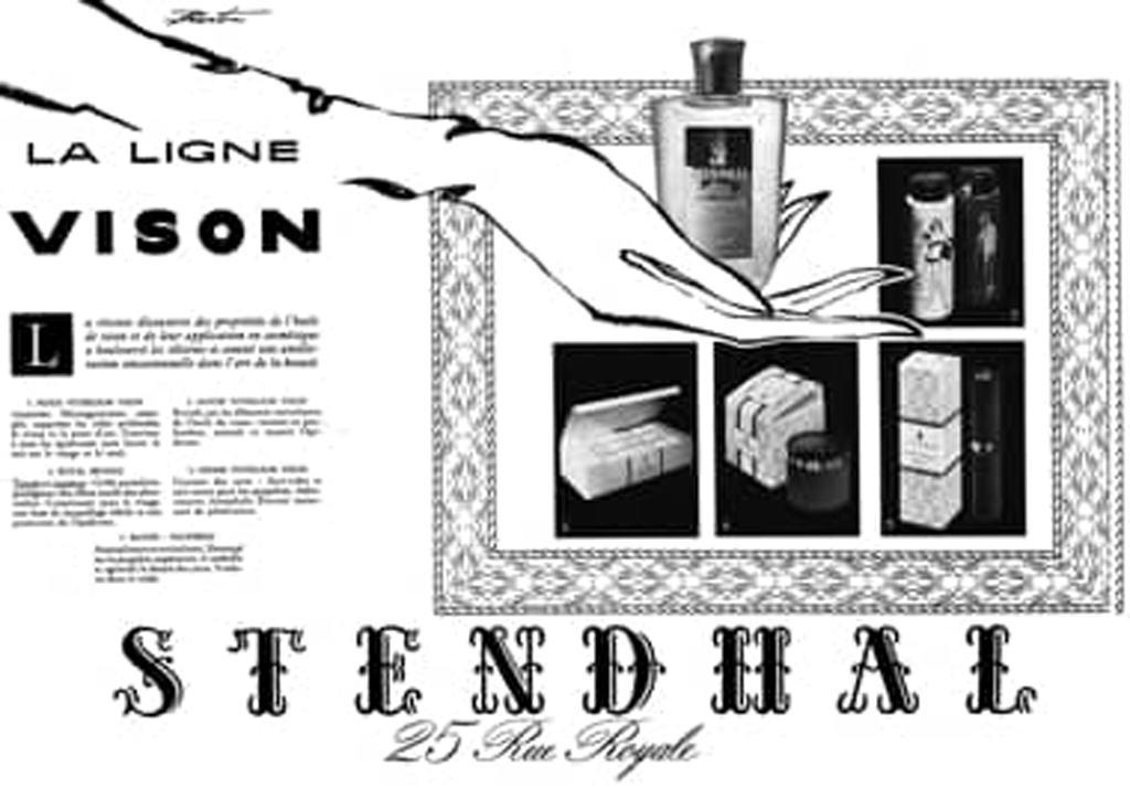 Stendhal La Ligne Vison