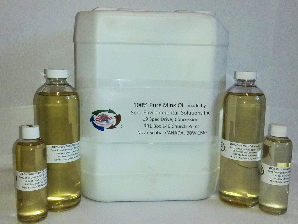 Spec Environmental Solutions produces mink oil