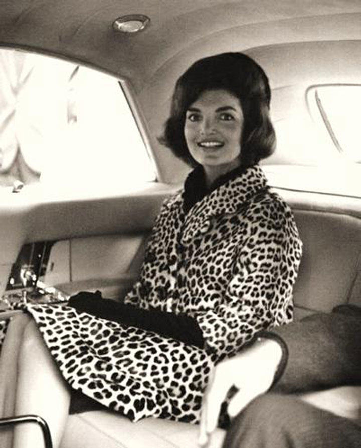 Anti-fur protesters wouldn't like Jackie Kennedy's leopard