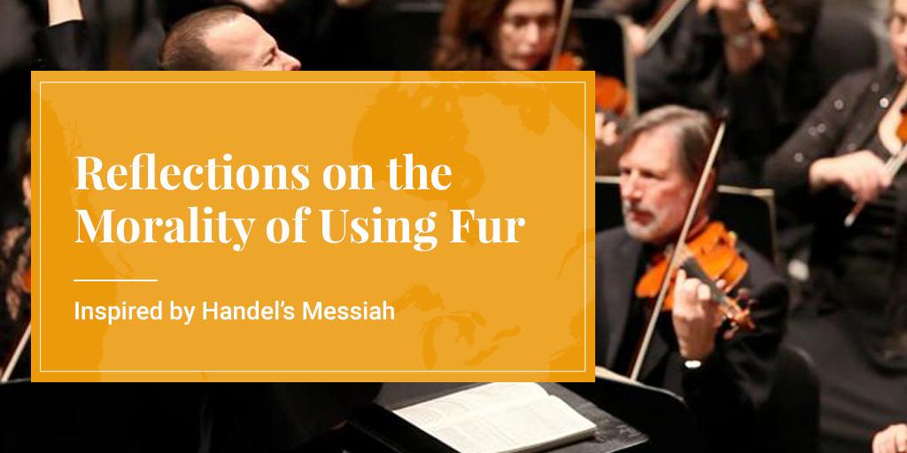 morality of using fur