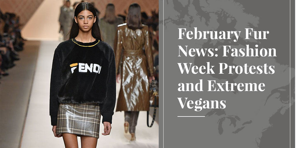 February Fur News: Fashion Week Protests and Extreme Vegans