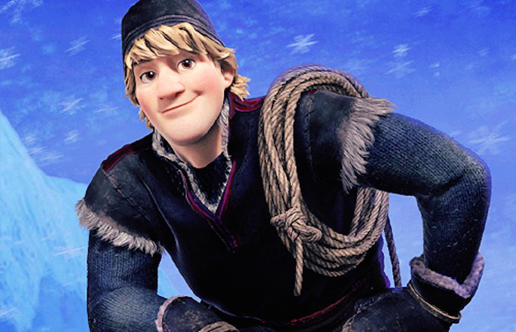 Frozen's Kristoff in cartoon fur