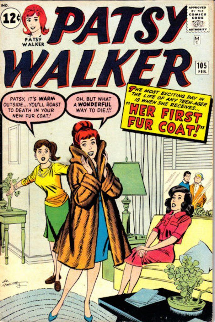 patsy walker in cartoon fur