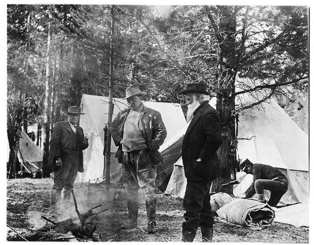 Theodore Roosevelt and John Burroughs