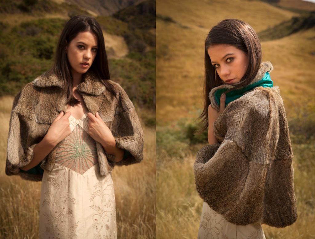 wild rabbit fur from Lapin