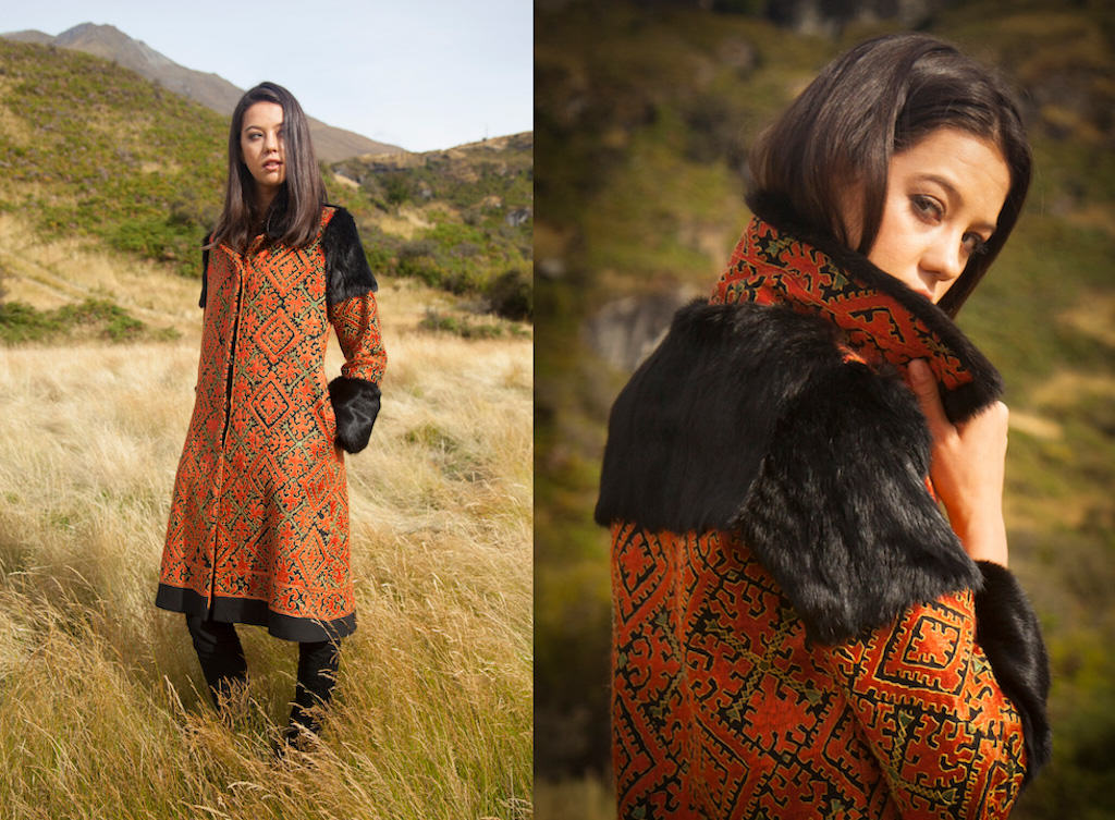 wild rabbit coat from Lapin