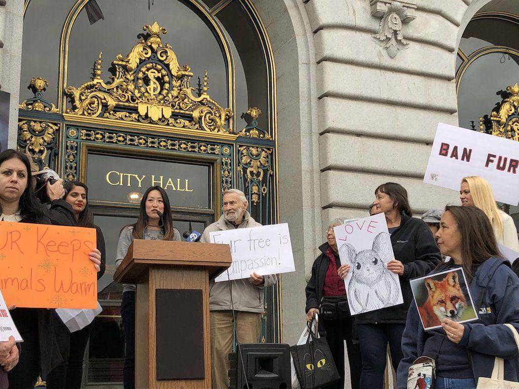 Katy Tang wants to ban fur
