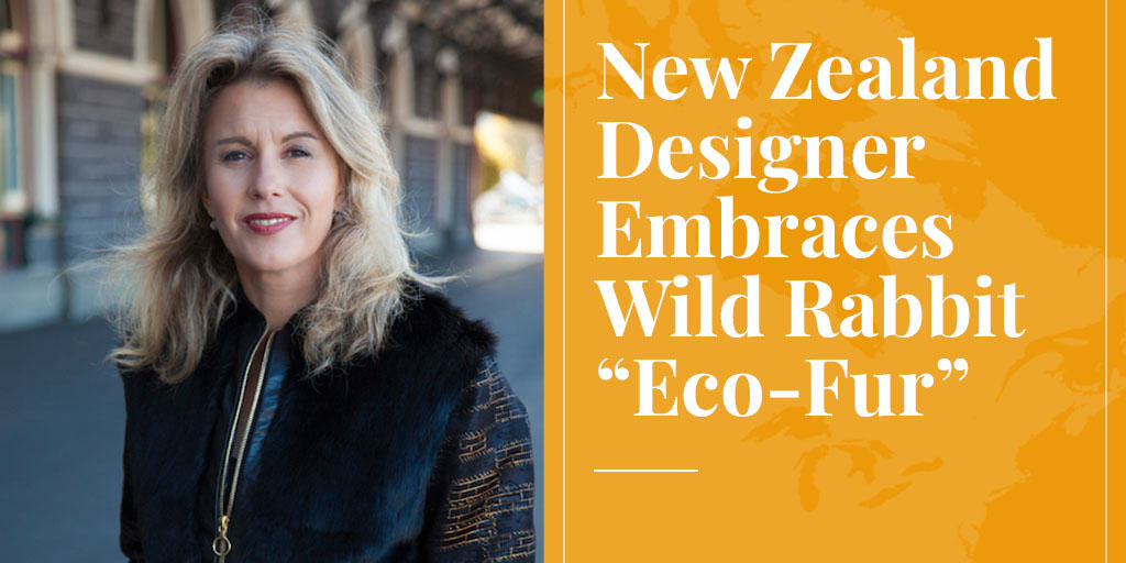 "New Zealand Designer Embraces Wild Rabbit ""Eco-Fur"""