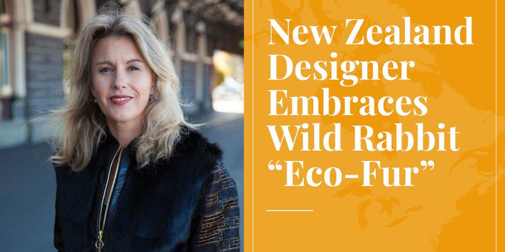"New Zealand Designer Embraces Wild Rabbit ""Eco-Fur"""