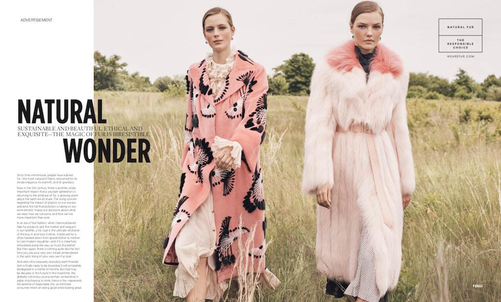 Natural Wonder sustainability of fur