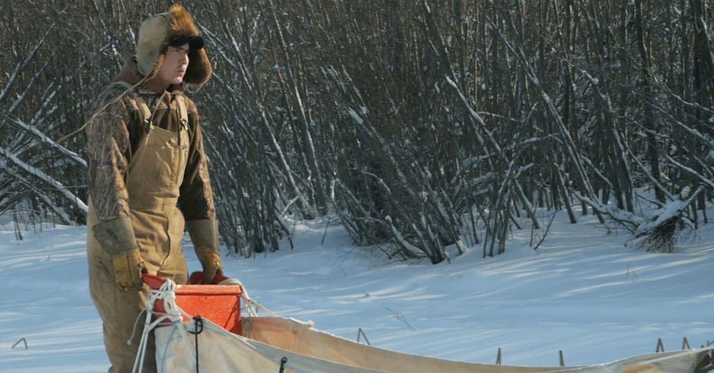 Cree trapper Robert Grandjambe