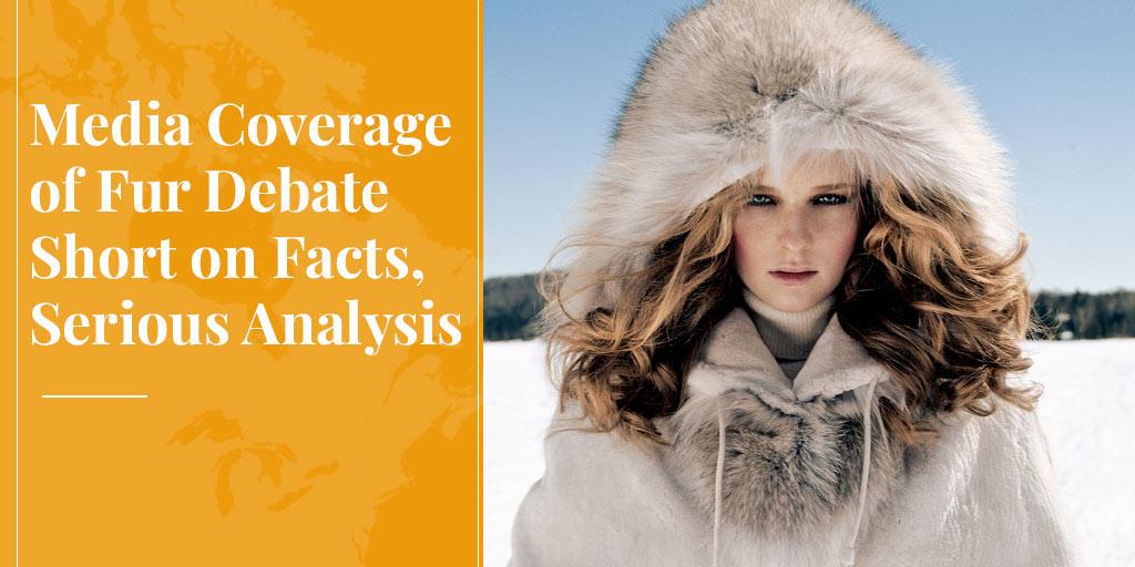 media coverage of fur debate