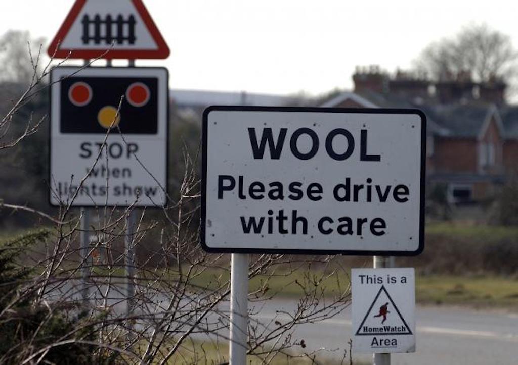 Wool village in Dorset