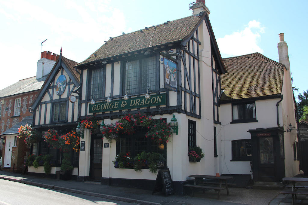 George and Dragon in Downe Kent