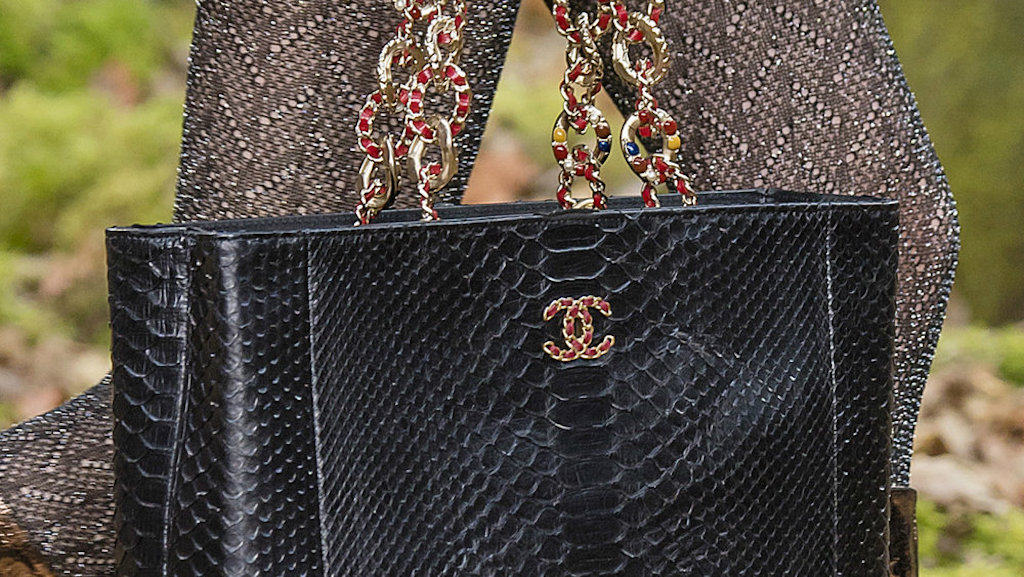 Chanel drops exotic skins