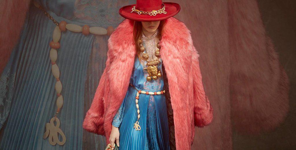 Gucci loves fake fur