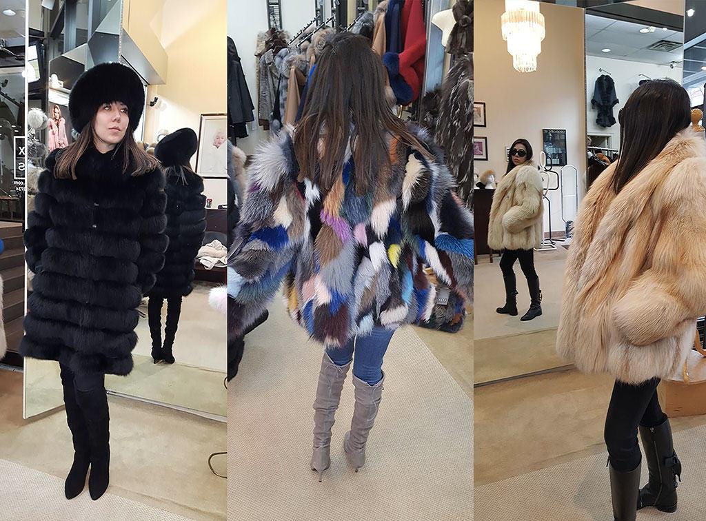 fur retail at Alex Furs