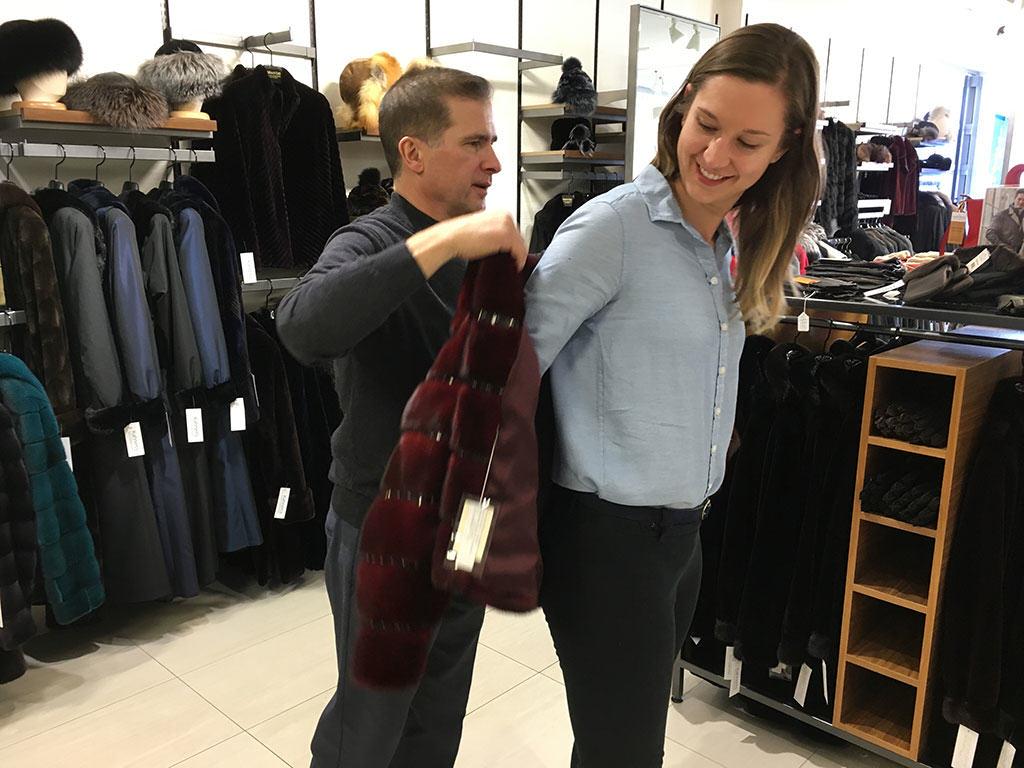 fur retail at Kahnert's