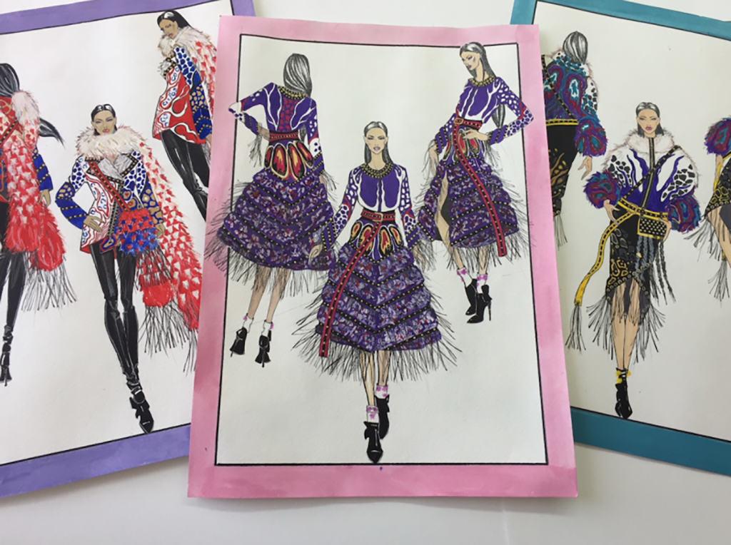 Yuliya Yuknovich sketches