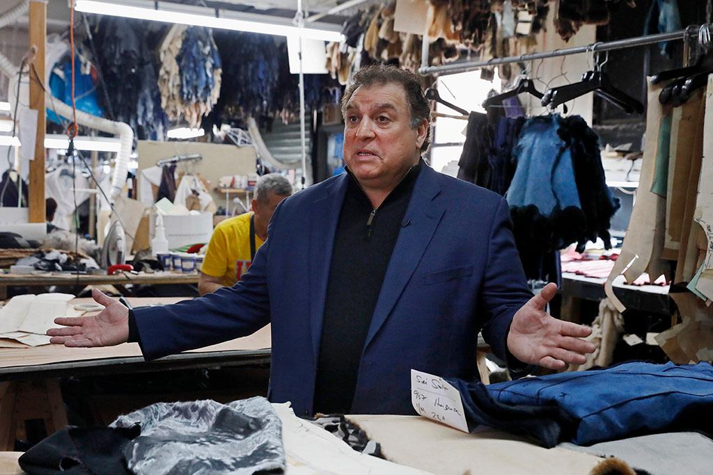 Nick Pologeorgis represents American fur trade