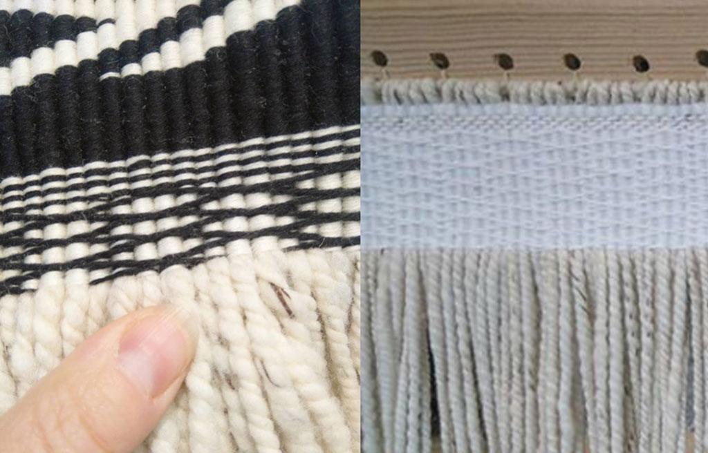 Ravenstail weaving