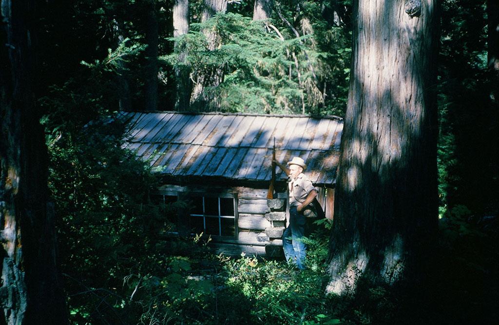 Greasy Bill's cabin and Ed Kania
