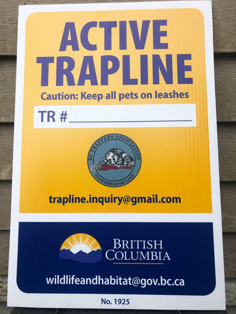 Active Trapline British Columbia