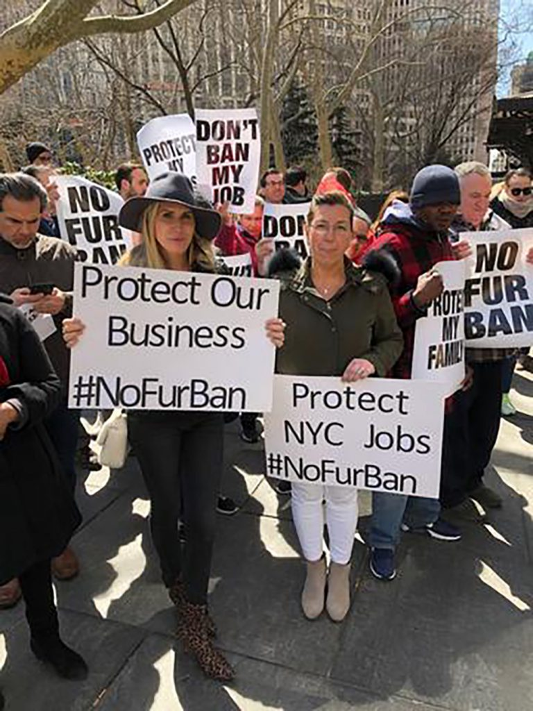 Maria Reich opposes New York fur ban