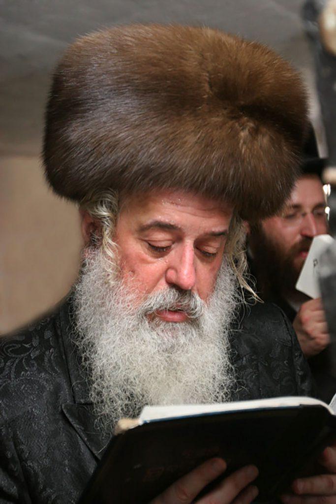 Rabbi Moshe Leib Rabinovich in kolpik