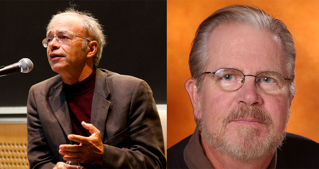 Peter Singer and Tom Regan