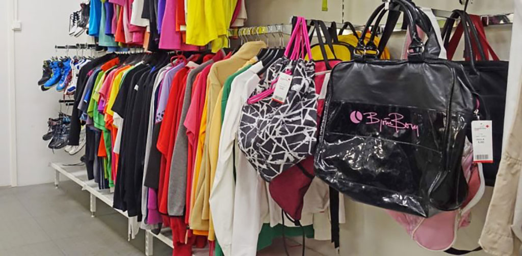 sexond-hand clothing store