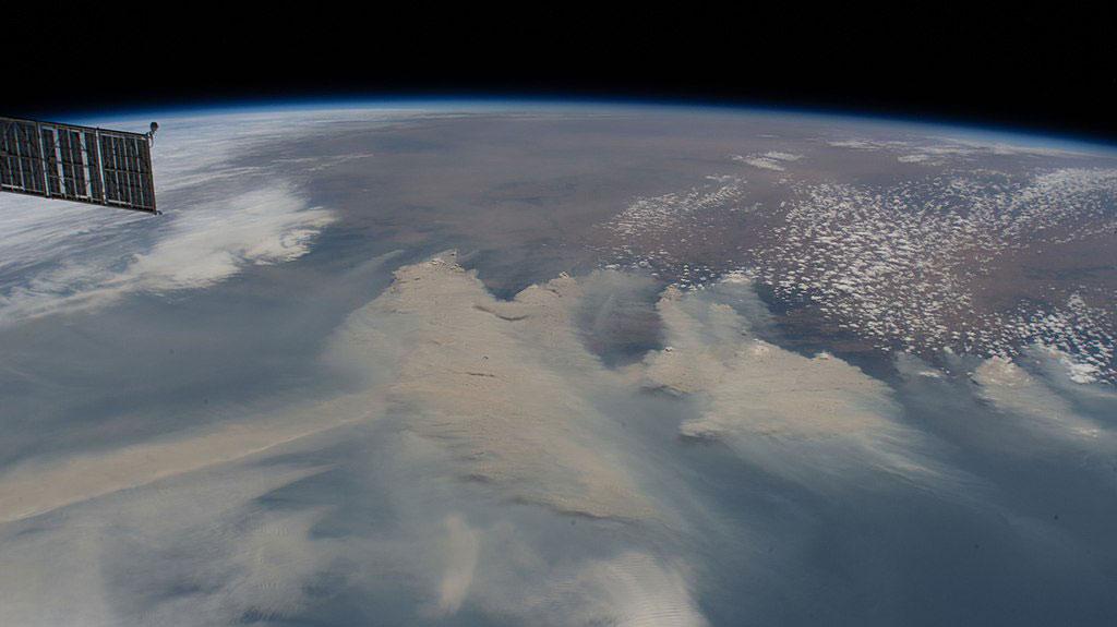 Australian bushfires by NASA