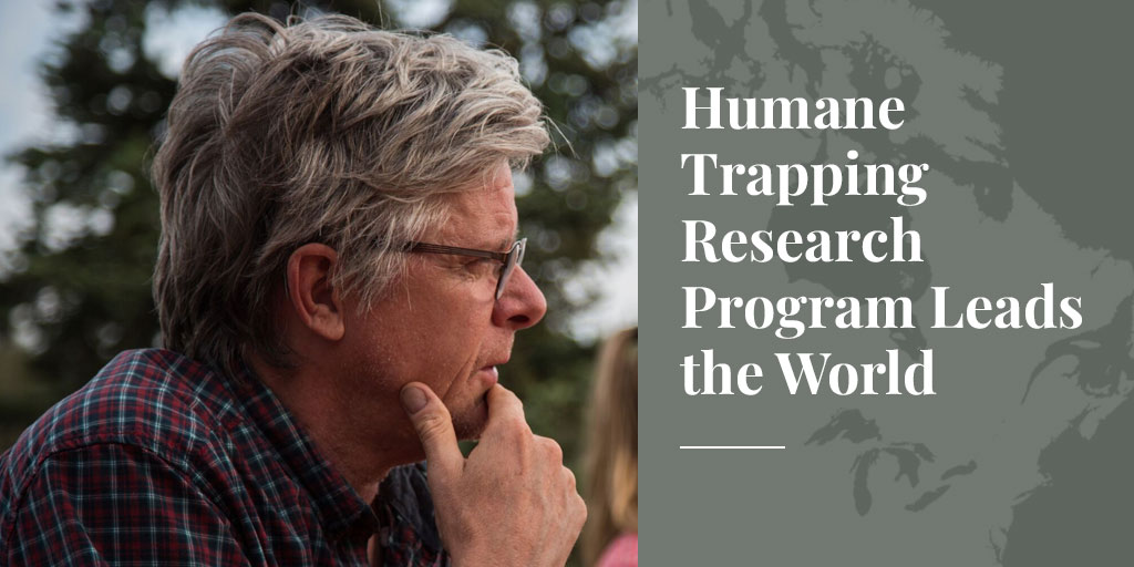 Humane Trapping Research Program Leads the World