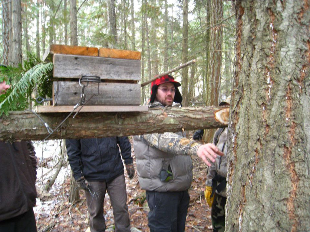 BC Trappers Traing Program in the field