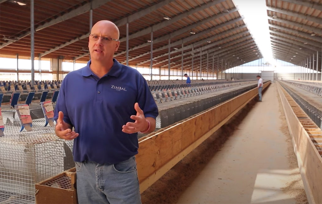 Bob Zimbal represents American fur trade