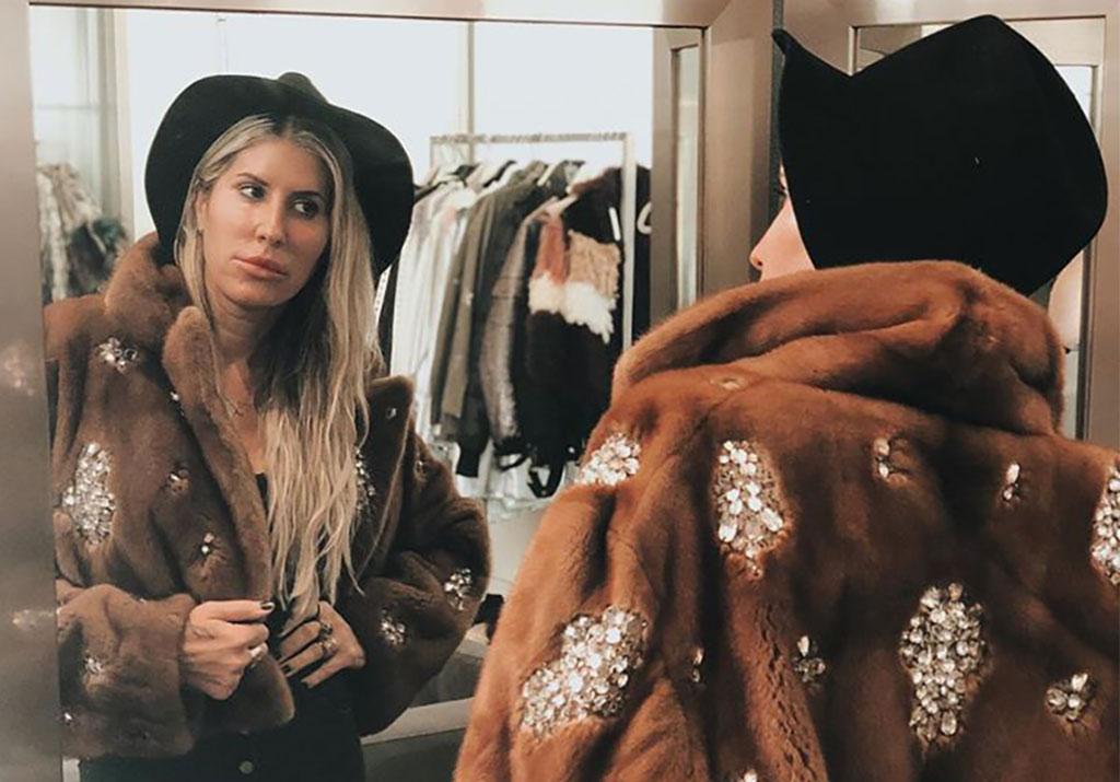 Maria Reich represents American fur trade