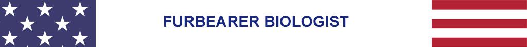 furbearer biologist for July 4 2020