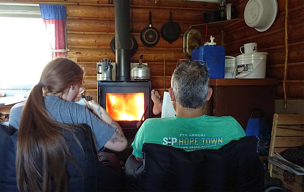 Yukon trapping lodge
