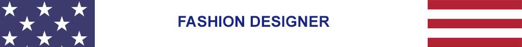 fashion designer for July 4 2020
